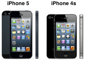 iPhone5 compared to iPhone 4S