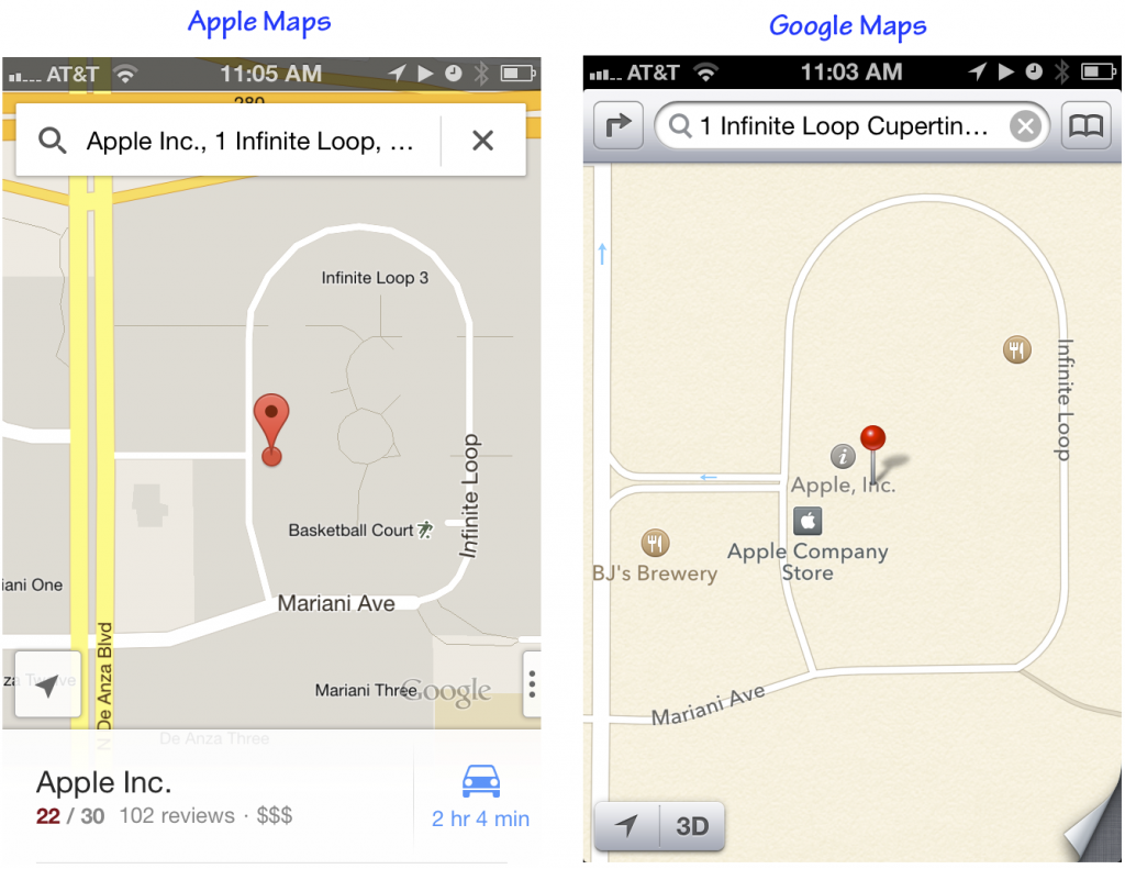 google maps vs apple maps Get help on 【 google maps vs apple maps essay 】 on graduateway ✅ huge assortment of free essays & assignments ✅ the best writers apple's most recent maps release gave more attention to the base quality of the application, focusing specifically on voiced navigational directions.
